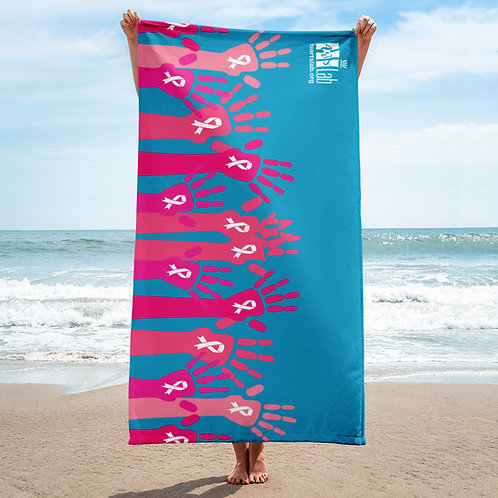 Hands of Helping Beach Towel