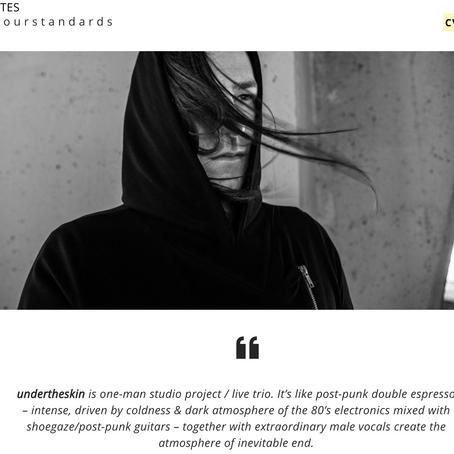 undertheskin interview for CULTARTES