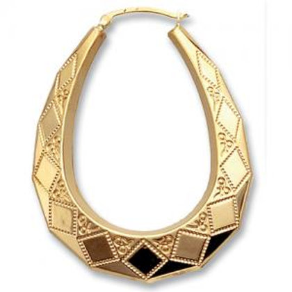9CT GOLD CREOLE