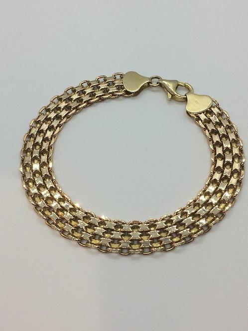 9ct Gold Ladies Bracelet