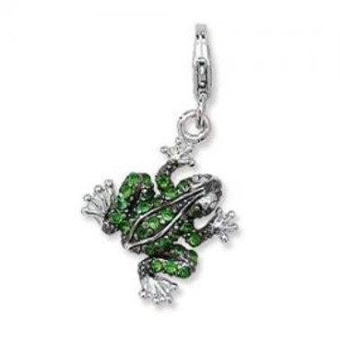 CHARMS OF LONDON FROG CHARM