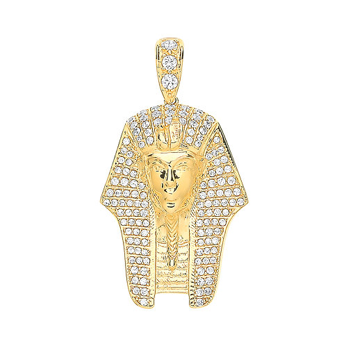 9ct yellow Gold King Tut Pendant