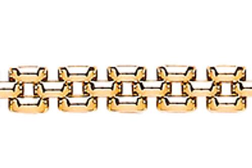 9ct Yellow Gold Panther ladies Bracelet