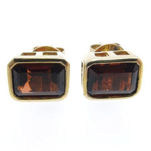 14ct Garnet Earrings