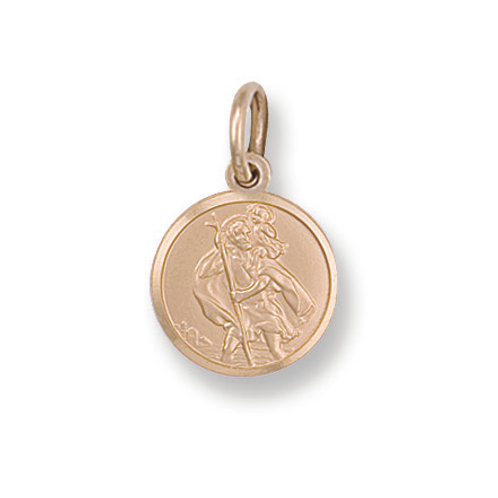 9ct yellow Gold St.christopher