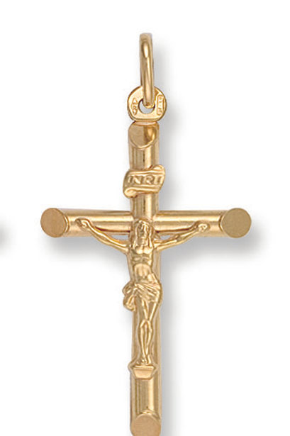 9ct yellow Gold crucifix