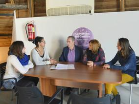 CTSSP-Podemos entrega a la Asociación RASCASA y a ACCEM 1.700 euros como muestra de su solidaridad