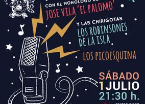 Rascasa organiza el 1 de julio una gala solidaria en el Teatro Apolo El Algar