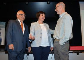 La Federación Vecinal reconoce la labor de Rascasa y Juan Gómez Ayala