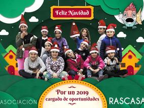 Rascasa lleva la Navidad a Santa Lucía y Los Mateos