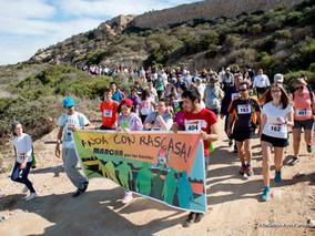 Cientos de vecinos recorrieron la marcha Anda con Rascasa en favor de la inclusión social