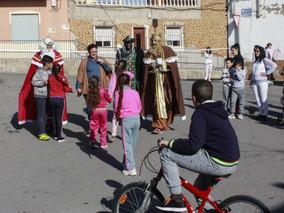 ¡Ya vienen los Reyes Magos!... a Los Mateos