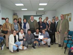 Servicios Sociales colabora en la financiación de un viaje cultural a Granada para los jóvenes del P