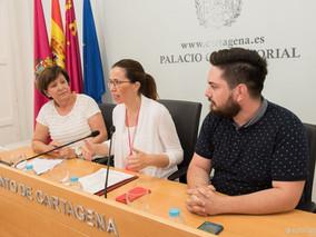Escuelas de baile de Cartagena y Murcia actuarán por Rascasa