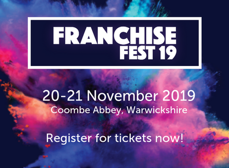 Franchise Fest 19 is coming to Coombe Abbey this November!