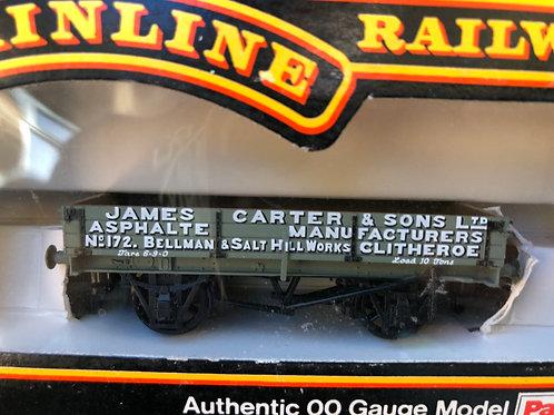 937361 3 PLANK WAGON JAMES CARTER & SONS - CLITHEROE