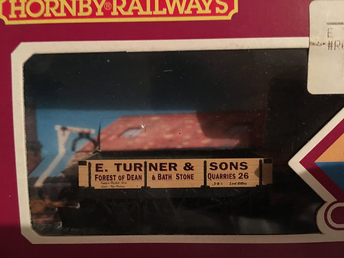 R.041 'E. TURNER' 3 PLANK WAGON - FOREST OF DEAN