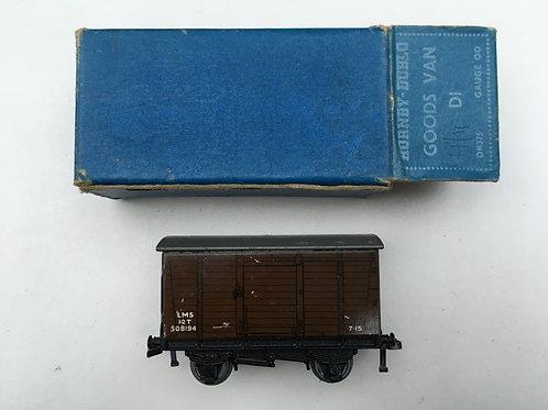 DR375 D1 GOODS VAN LMS 6/1950