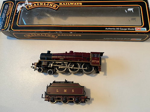 37046 L.M.S. JUBILEE CLASS LOCO GLORIOUS 5719 WITH FOWLER TENDER