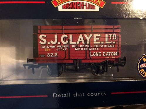 37-175 9 PLANK WAGON S J CLAYE LTD LONG EATON