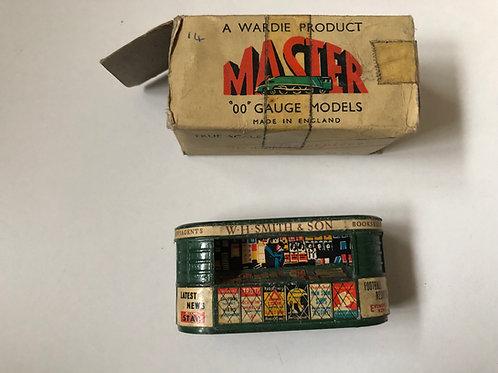 WARDIE MASTER MODELS NEWSAGENT SHOP - BOXED