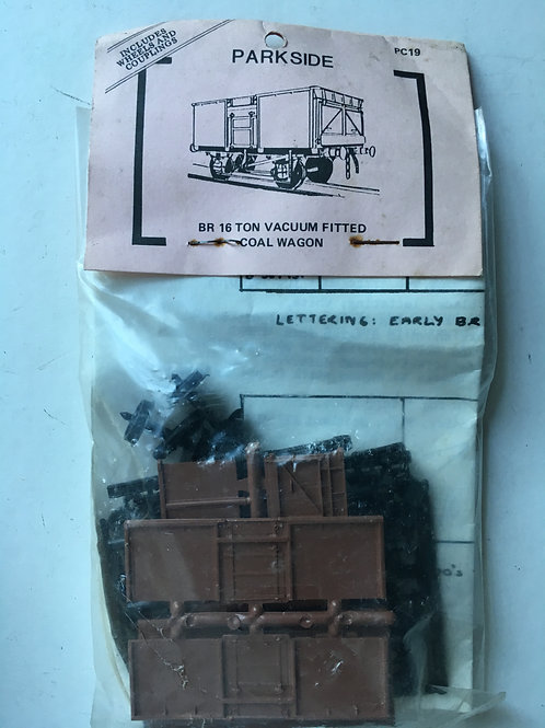 PARKSIDE DUNDAS PC19 BR 16 TON VACUUM FITTED COAL WAGON
