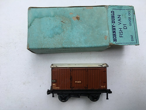 PRE WAR D307 D1 NE FISH VAN - BOXED 4/1939