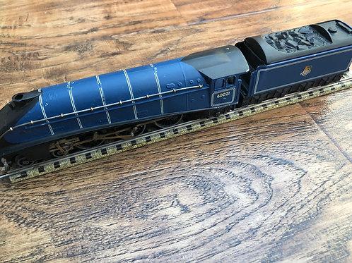 3-RAIL BR BLUE A4 WILD SWAN 60021 LOCOMOTIVE & TENDER