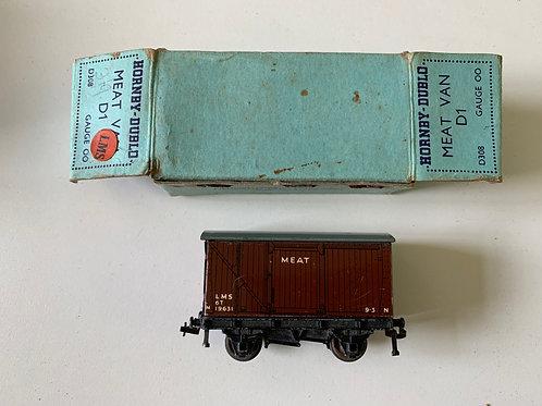 PRE WAR D308 D1 LMS MEAT VAN - BOXED 4/1939