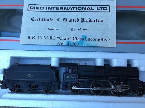 204814A5 BR L.M.R. CRAB CLASS LOCO & TENDER 42760