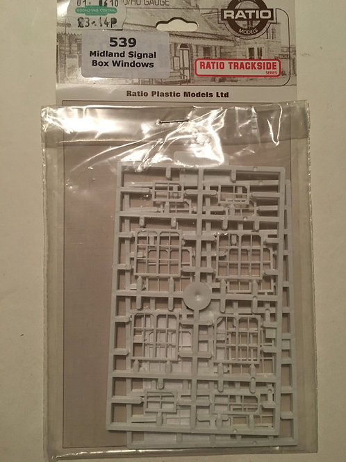 RATIO 539 MIDLAND SIGNAL BOX WINDOWS