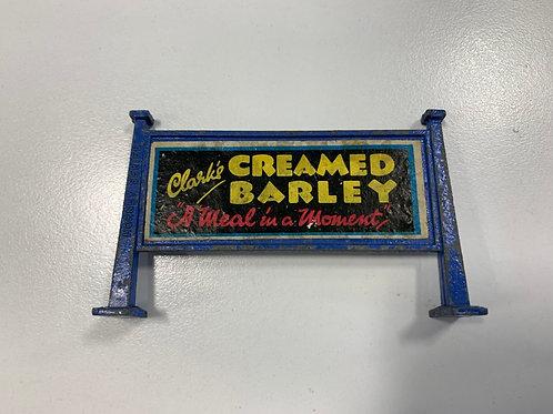 HORNBY MECCANO HOARDING - CREAMED BARLEY / HARTLEYS & PEARS