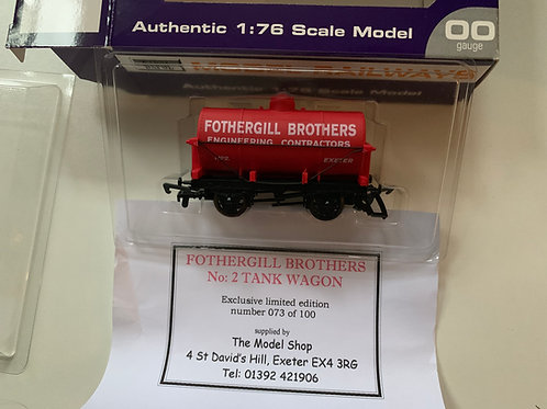 FOTHERGILL BROTHERS TANKER WAGON No 2 - LIMITED EDITION