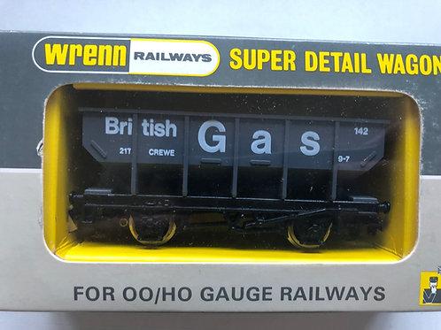 W5088 HOPPER WAGON BRITISH GAS (WITH LOAD) - PERIOD 4