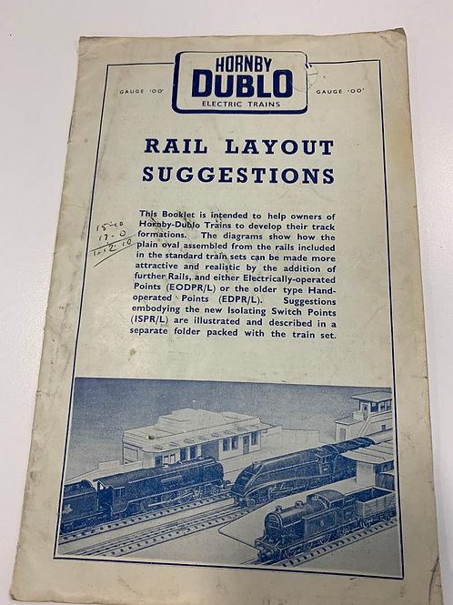 HORNBY DUBLO - RAIL LAYOUT SUGGESTIONS