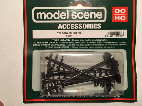 MODEL SCENE 5080 TELEGRAPH POLES