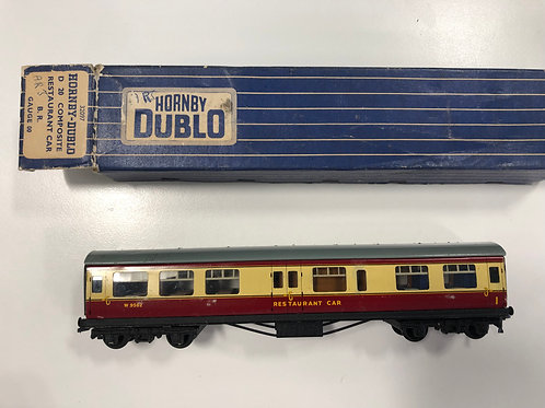 32097 D20 RED / CREAM RESTAURANT CAR W9562 - BOXED