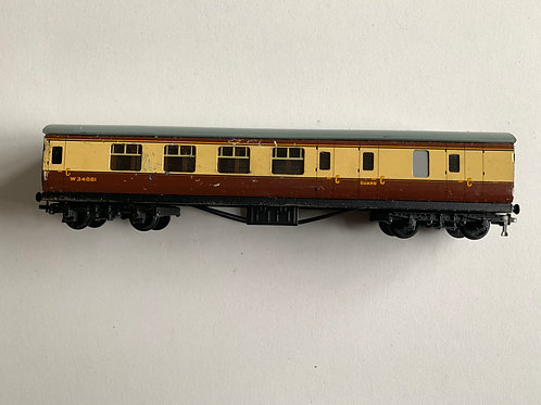 32095 BRAKE / 2ND COACH WESTERN REGION W34881 - 2 or 3 RAIL