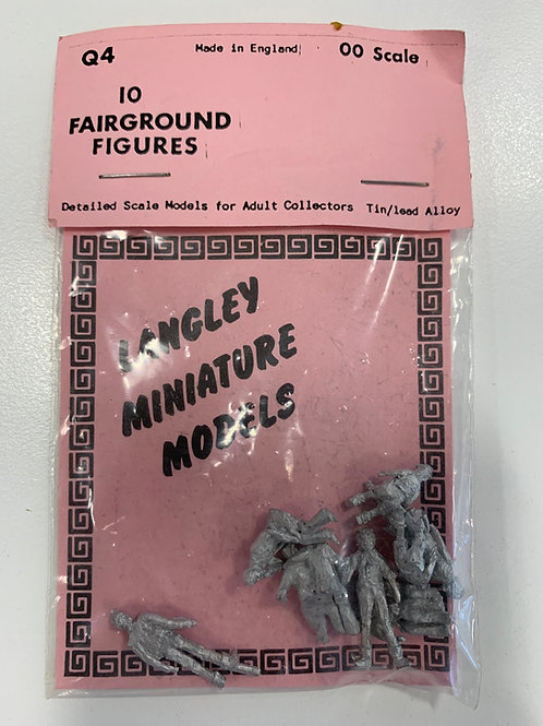 LANGLEY MINIATURE MODELS - Q4 10 FAIRGROUND FIGURES