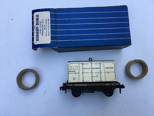32088 FLAT BED WAGON WITH INSULMEAT LOAD - BOXED