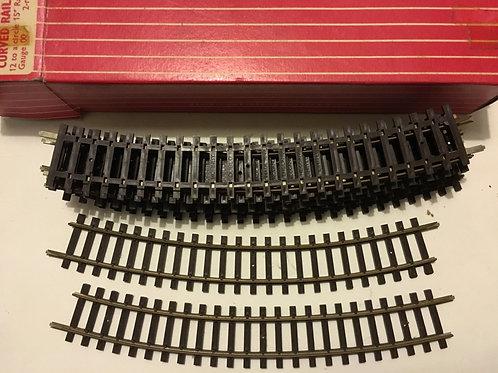 2719 12 x CURVED RAILS LARGE RADIUS BOXED
