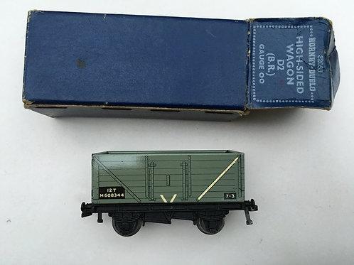 32055 D2 HIGH SIDED WAGON (B.R.) 5/1953