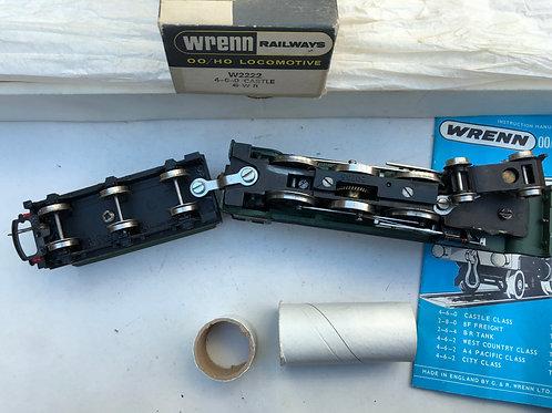 W2222 4-6-0 CASTLE GWR DEVIZES LOCOMOTIVE & TENDER - BOXED