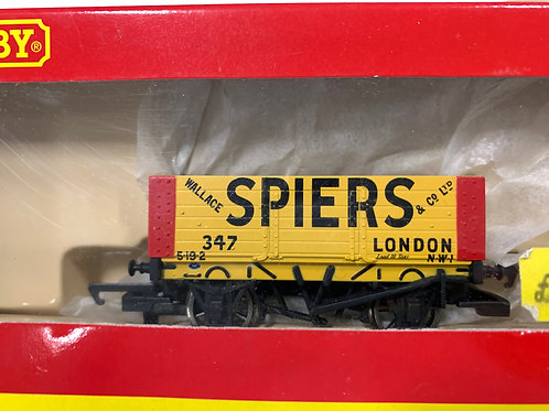 R.6236 6 PLANK WAGON WALLACE SPIERS LONDON