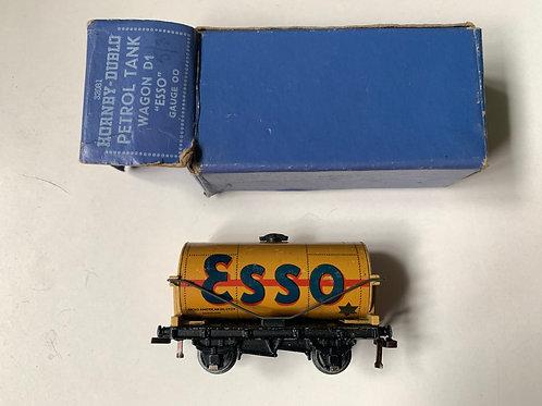 32081 D1 PETROL TANK WAGON ESSO BUFF - BOXED
