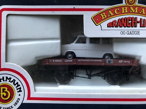 33-410 1 PLANK WAGON WITH FORD TRANSIT VAN LOAD