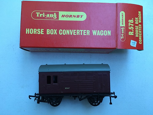 R.578 HORSE BOX CONVERTER WAGON
