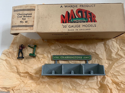 WARDIE MASTER MODELS - No 65 CHARRINGTONS COAL BUNKER SET