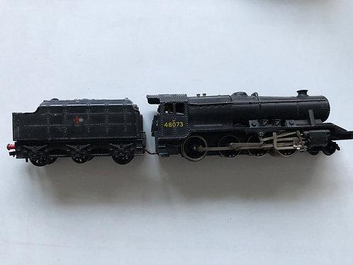 2224 2-RAIL BR BLACK CLASS 8F LOCOMOTIVE 48073 & TENDER - RINGFIELD MOTOR