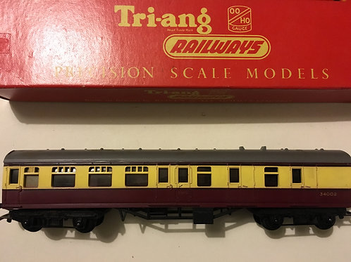 R.28 MAINLINE BRAKE 2ND MAROON & CREAM 34002 BOXED